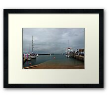 Yarmouth Harbour from the Slipway Framed Print