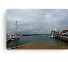 Yarmouth Harbour from the Slipway Canvas Print