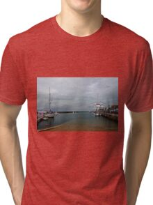 Yarmouth Harbour from the Slipway Tri-blend T-Shirt