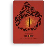 The Hobbit: The desolation of Smaug Canvas Print