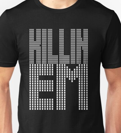 Killin Em [Oo Killem Response] [White Ink] | OG Collection Unisex T-Shirt