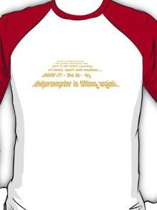 Teleprompter T-Shirt