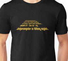 Teleprompter Unisex T-Shirt