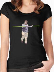 Star Wars Kid Women's Fitted Scoop T-Shirt