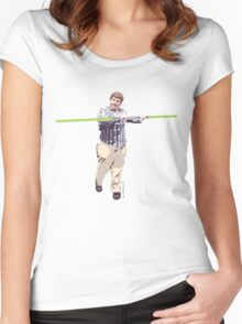 Star Wars Kid Women's Fitted Scoop T-Shirt
