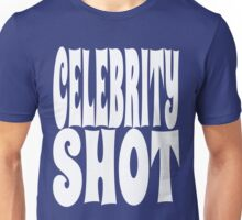 Celebrity Shot [White Ink] | OG Collection Unisex T-Shirt