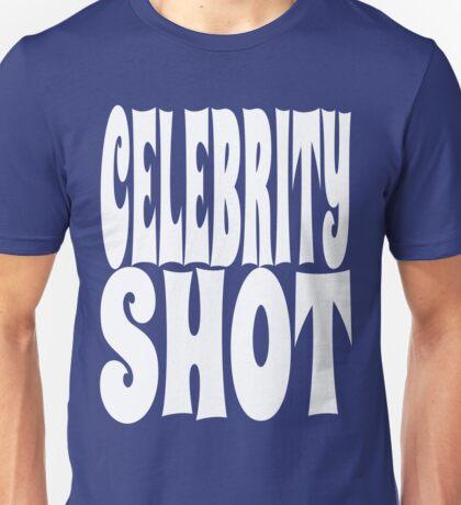 Celebrity Shot [White Ink] | OG Collection Unisex T-Shirt