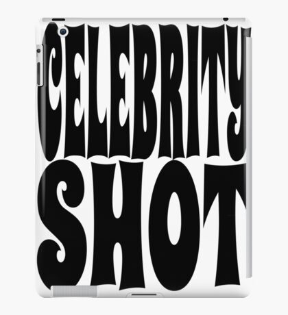 Celebrity Shot | OG Collection iPad Case/Skin