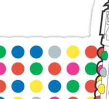Hirsterminate Sticker