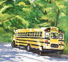 School Bus by ShellzArt