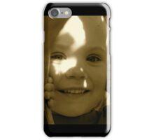 Peek-a-Boo - Antique  iPhone Case/Skin