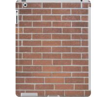 Brick Wall with Mortar - Red White iPad Case/Skin