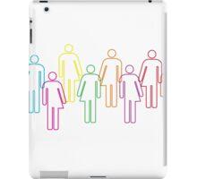 Transgender pride and diversity iPad Case/Skin