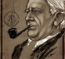 J.R.R. Tolkien by Angelica Arfini