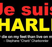 Je Suis Charlie by EyeMagined