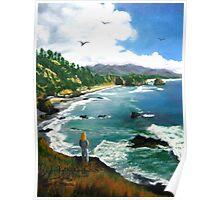 """Sea Gazing"" Poster"