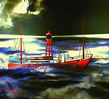 The South Goodwin Light Vessel - all products except duvet by Dennis Melling