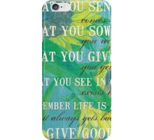 Life Is An Echo iPhone Case/Skin