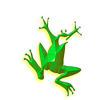 Jumping Green Frog, Jumping Jehoshaphat! by TOM HILL - Designer