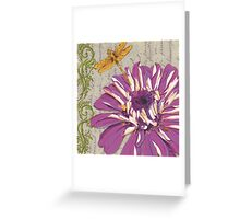 Moulin Floral 2 Greeting Card