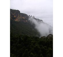 Cloudy Valley Photographic Print