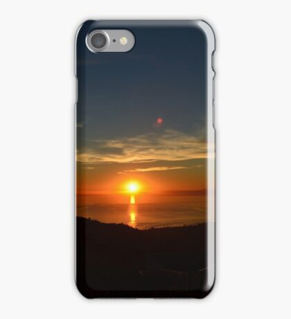 Top of the World Sunset iPhone Case/Skin