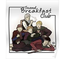 Second Breakfast Club Poster
