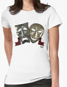 2Faced Womens Fitted T-Shirt