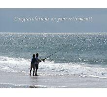 Retirement Photographic Print
