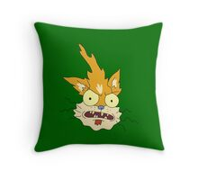I'm squanching here Throw Pillow