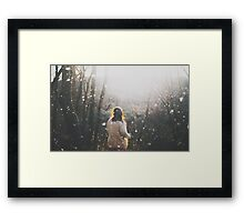 To ashes Framed Print
