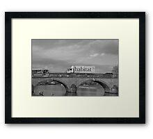 (Our) Habitat Framed Print