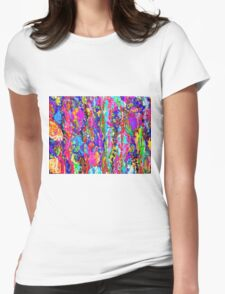 Tidal Pool Womens Fitted T-Shirt