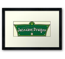 The Jasmine Dragon Framed Print