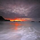 Jurassic Coast - Grey Start At Manowar Bay. by delros