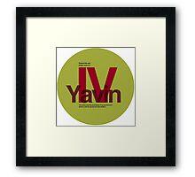 Star Wars: Yavin IV Framed Print