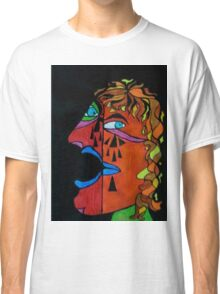Crying Man Classic T-Shirt