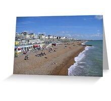 Brighton Beach UK Greeting Card