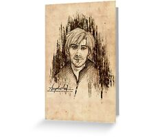 Remus John Lupin  Greeting Card