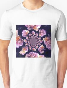 Roses Approaching Unisex T-Shirt