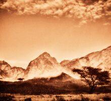 sinai mountains #4 by Joseph Gerges