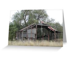 Airconditioned Barn Greeting Card