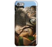 portrait of an iguana IV - retrato de iguana iPhone Case/Skin