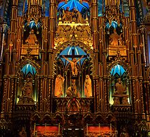 Choir of Notre-Dame Basilica, Montreal  by Stéphane Mottelet