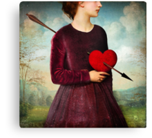 The Heartache Canvas Print