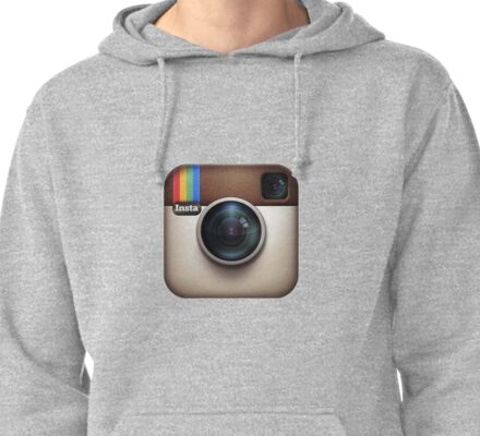 Instagram Pullover Hoodie