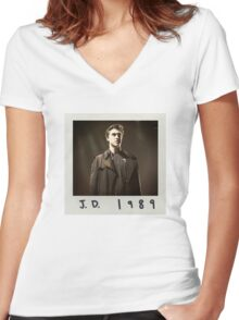 jd 1989 Women's Fitted V-Neck T-Shirt
