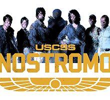 Nostromo Crew - Alien by RedDeadMiller