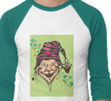 Lucky elf Men's Baseball ¾ T-Shirt