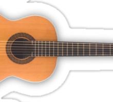Spanish Flamenco Guitar Sticker
